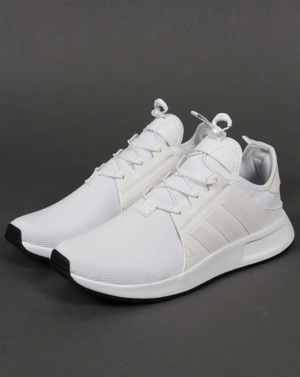 adidas xplr trainers triple white shoes originals sneakers. Black Bedroom Furniture Sets. Home Design Ideas