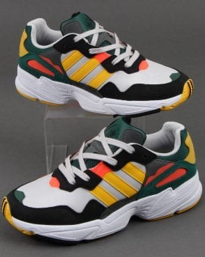 adidas Trainers Adidas Yung-96 Trainers Grey/bold Gold/red
