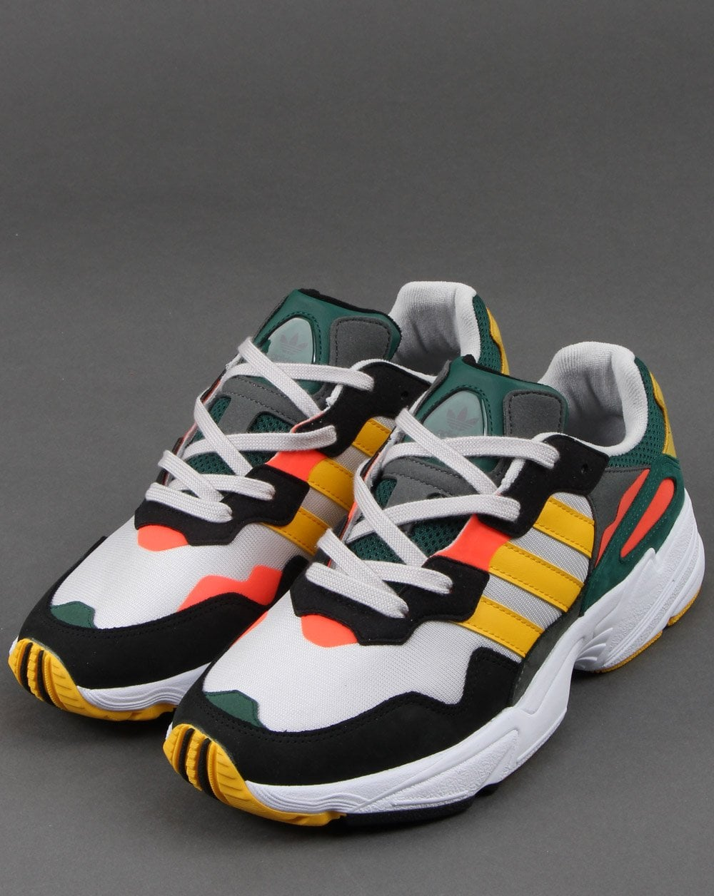 Adidas Yung-96 Trainers Grey/bold Gold