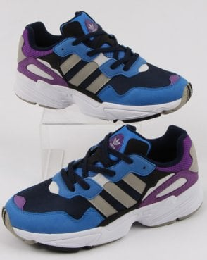adidas Trainers Adidas Yung-96 Trainers Navy/Sesame/True Blue