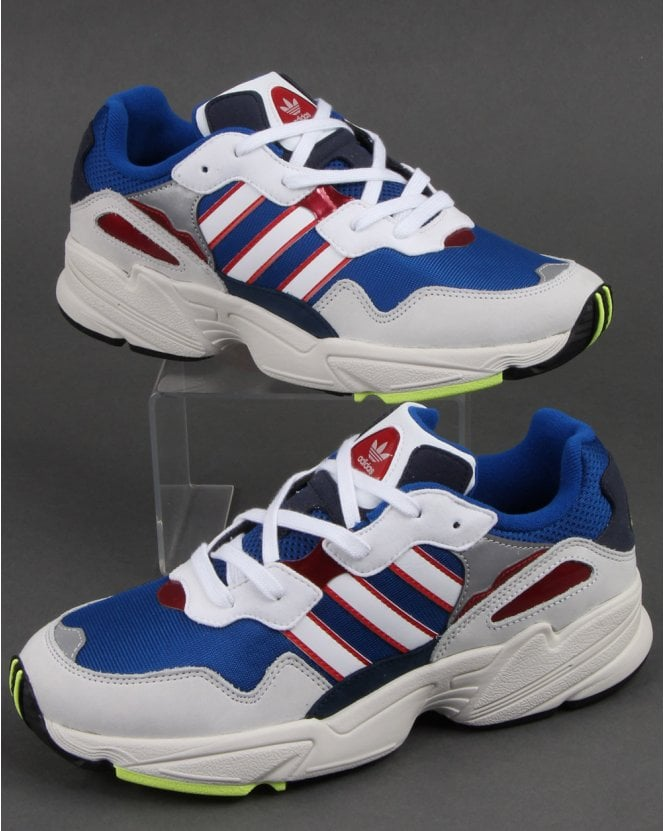 dc4642a652e Adidas Yung-96 Trainers Royal White Navy - Shop More Adidas On 80sCC
