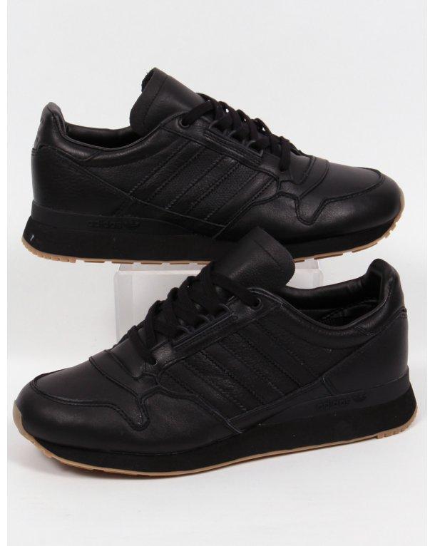 adidas zx 500 og cuoio formatori nero / nero, originali, le scarpe
