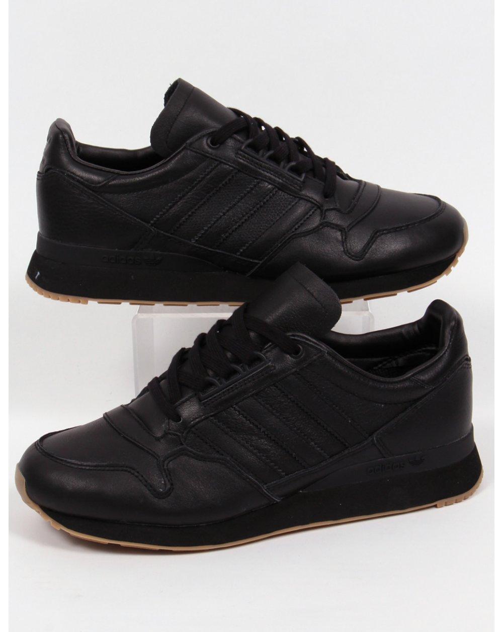 grandes ofertas 2017 calidad real último vendedor caliente Adidas Zx 500 Og Leather Trainers Black/black,originals,shoes ...