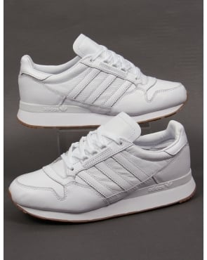 Adidas Trainers Adidas ZX 500 OG Leather Trainers White/white