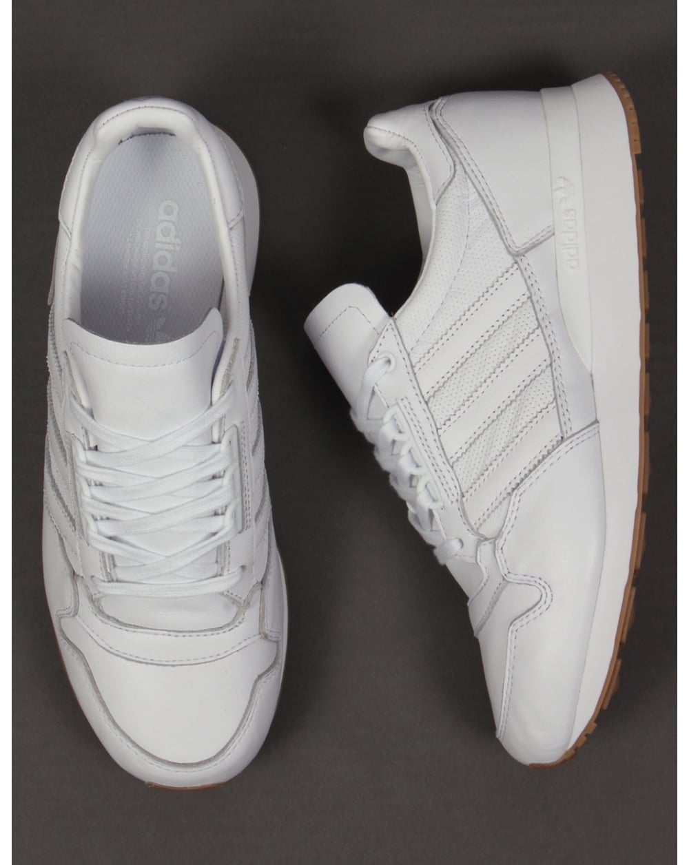 Adidas Zx 500 Og Lær Hvit xFU51bX