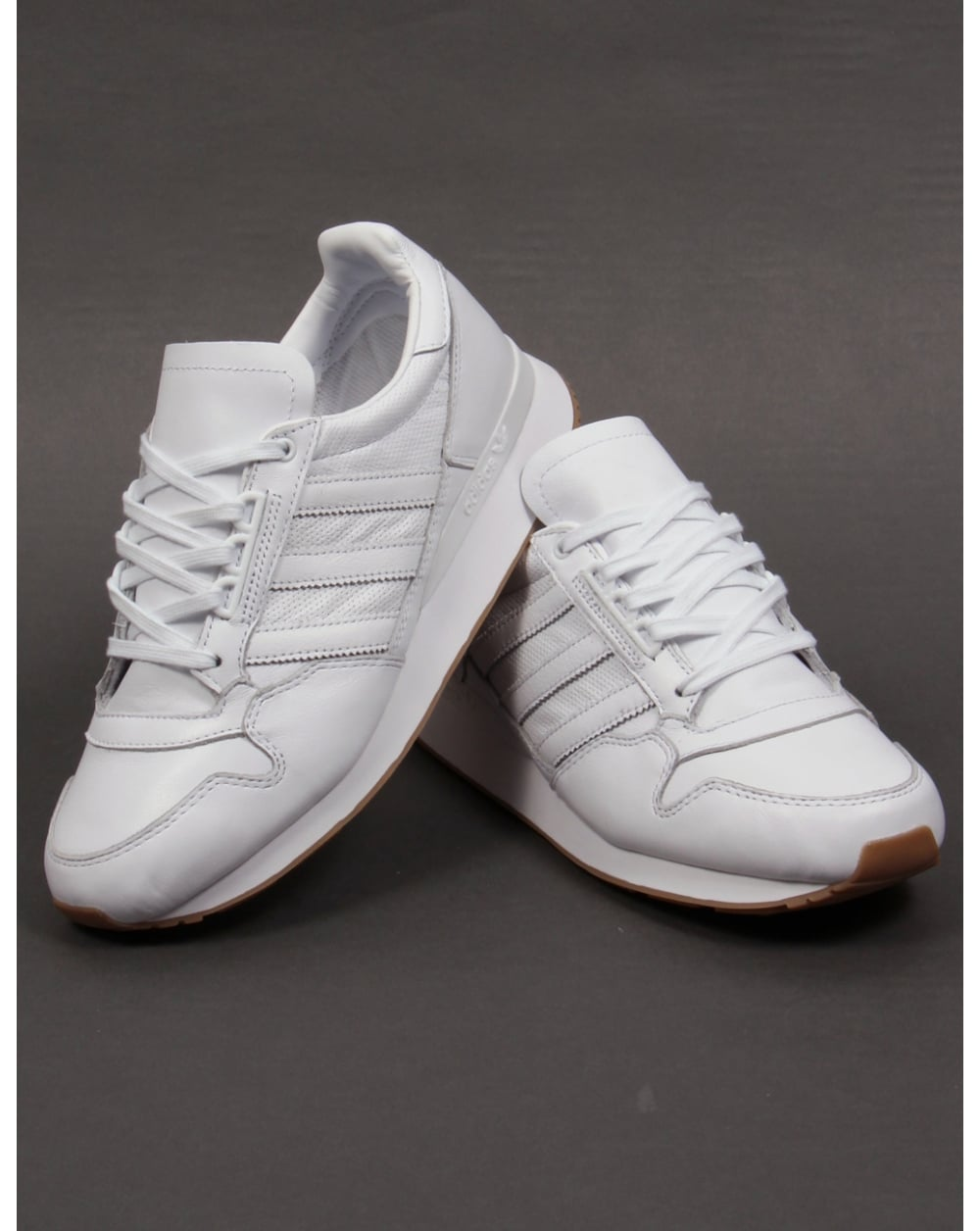 brand new 218b7 d046b Adidas ZX 500 OG Leather Trainers White/white