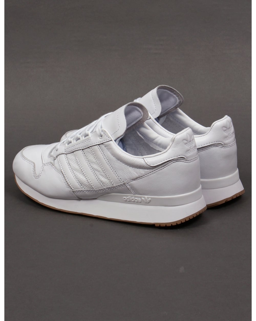 adidas zx 500 og leather trainers white white originals. Black Bedroom Furniture Sets. Home Design Ideas