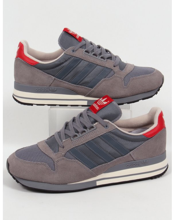 Adidas ZX 500 OG Trainers Grey/Onix/Red