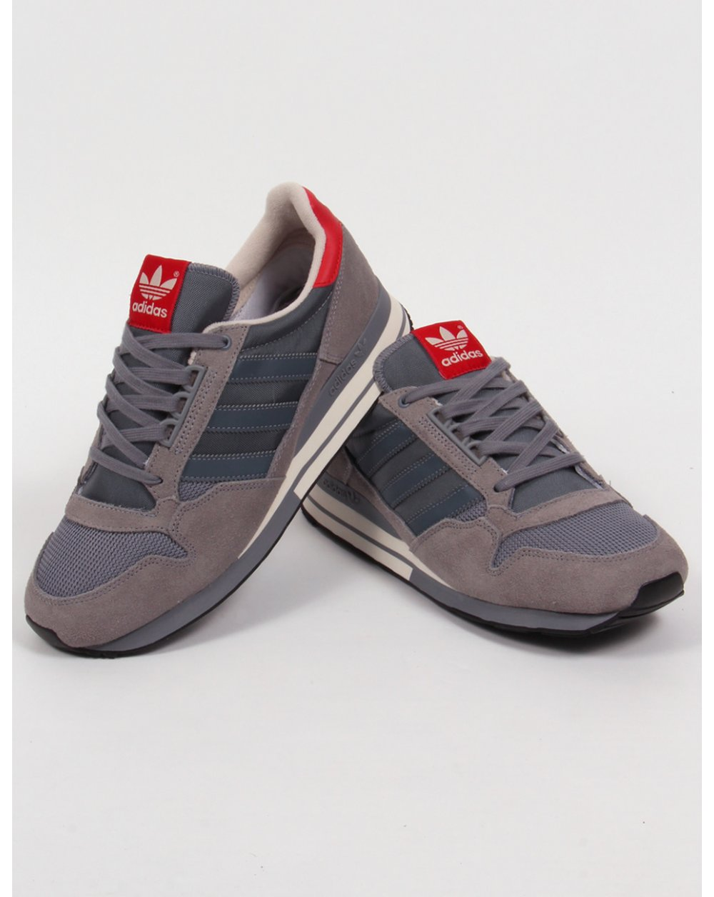 Adidas Zx 500 Og Trainers Grey/onix/red,originals,shoes ...