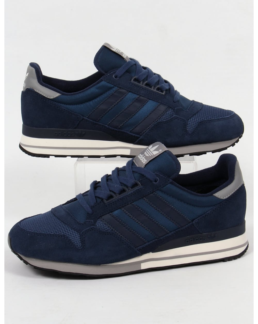 official photos c76f7 f07cb adidas Trainers Adidas ZX 500 OG Trainers NavyWhiteSolid Grey