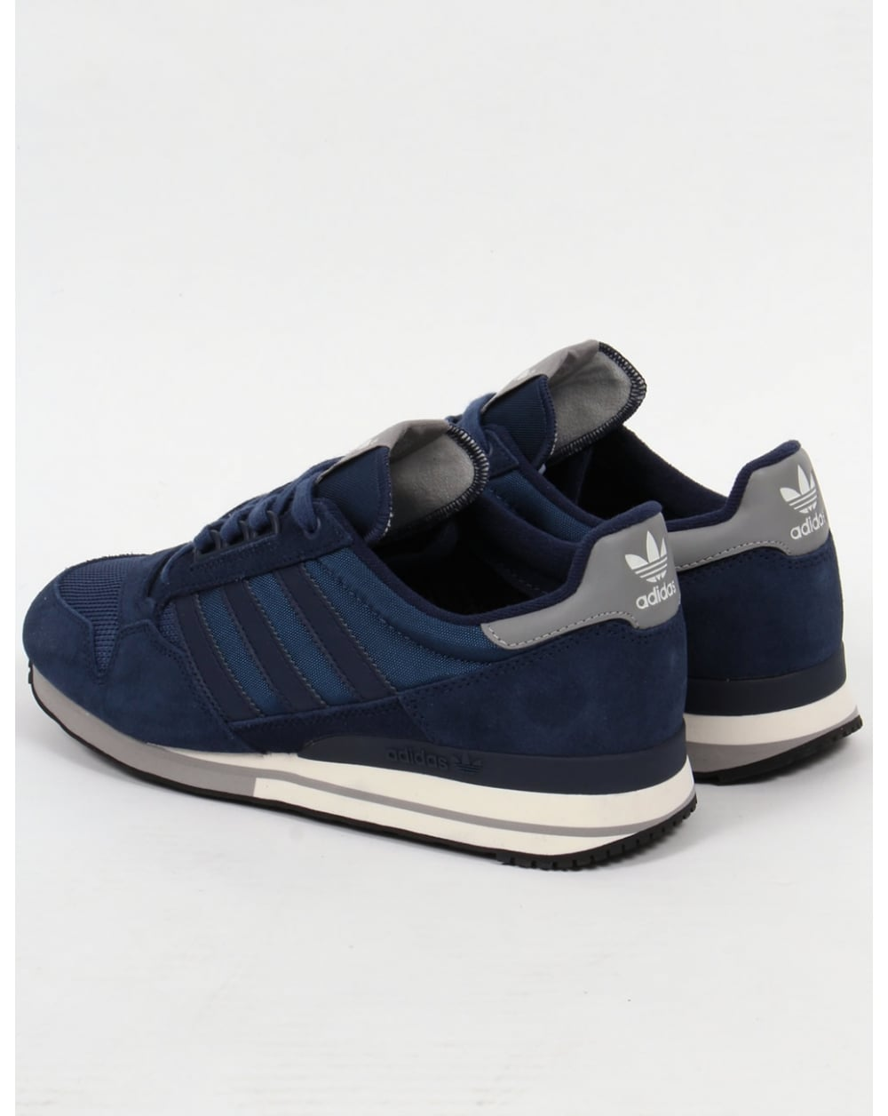 adidas zx 500 og trainers navy white solid grey originals. Black Bedroom Furniture Sets. Home Design Ideas