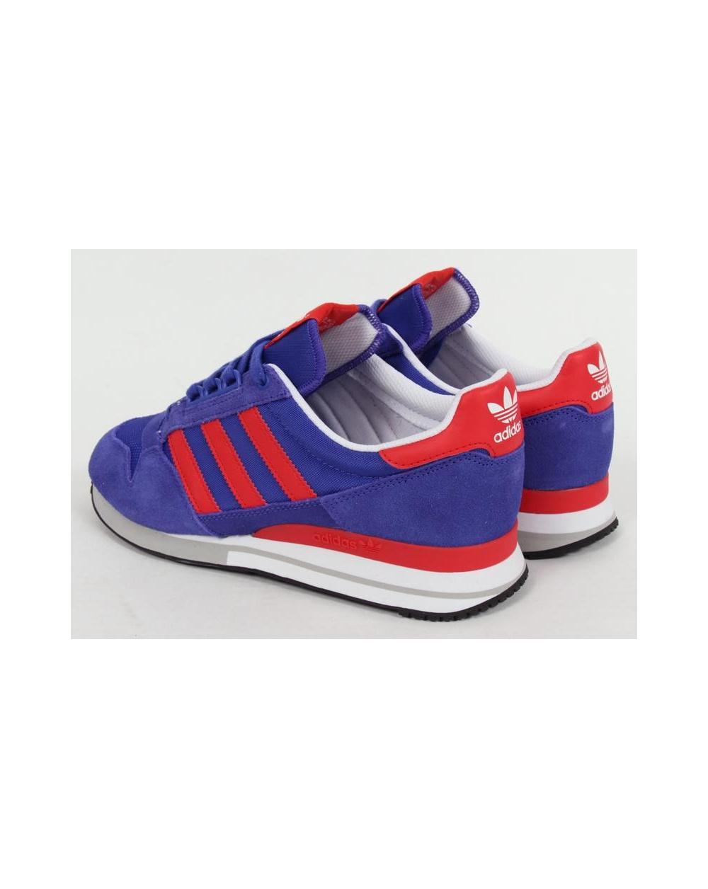 Adidas Originals Tandis Que Zx 500 Et Formateurs Rouges U0cNa26
