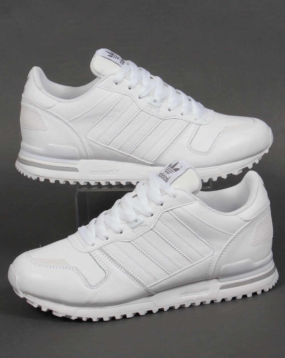 order online official supplier new styles Adidas ZX 700 Leathers Trainers White