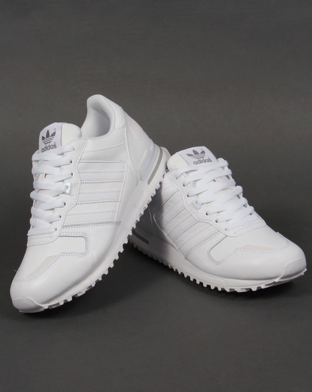 Adidas ZX 700 Leather Trainers White,originals,shoes ...