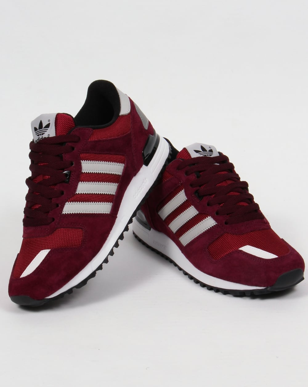 new product 7364b b3fdc ... aliexpress adidas zx 700 trainers burgundy grey black 9325a 60f3b ...