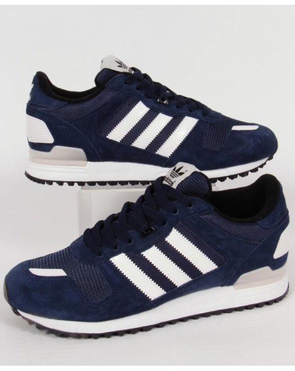 Adidas Zx 700 Trainers Collegiate Navy/white