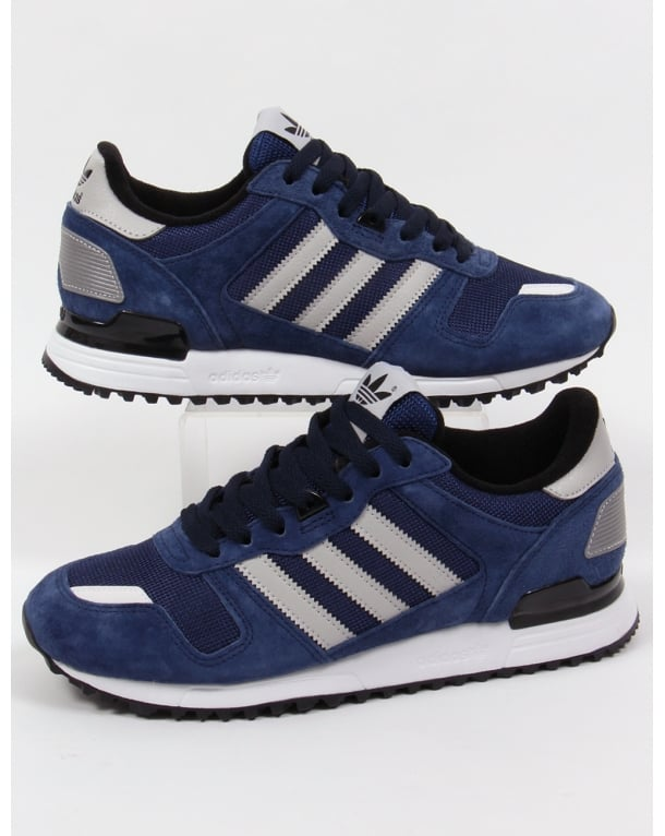 bd5b744555ed3 Adidas Zx 700 Trainers Navy grey black