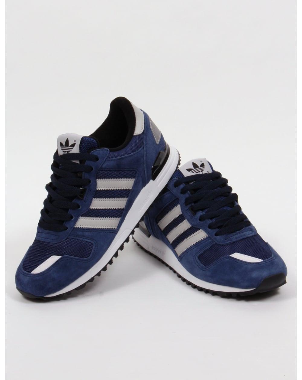 Adidas Zx 700 Trainers Navy/grey/black,originals,shoes ...