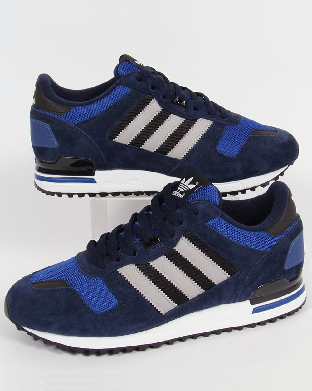 57e1700fc2dea adidas Trainers Adidas ZX 700 Trainers Navy Grey Royal Blue