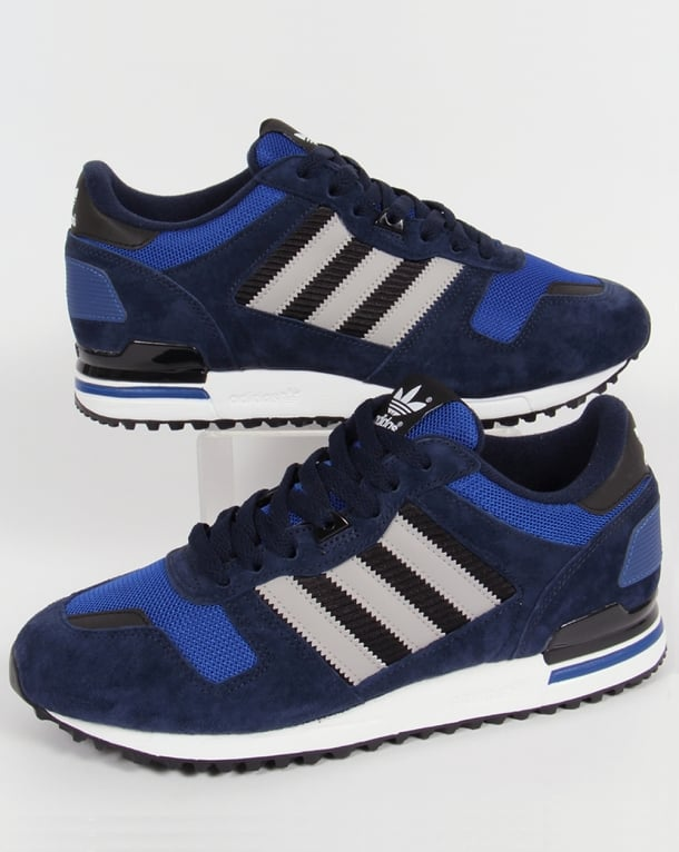 Adidas ZX 700 Trainers Navy/Grey/Royal Blue