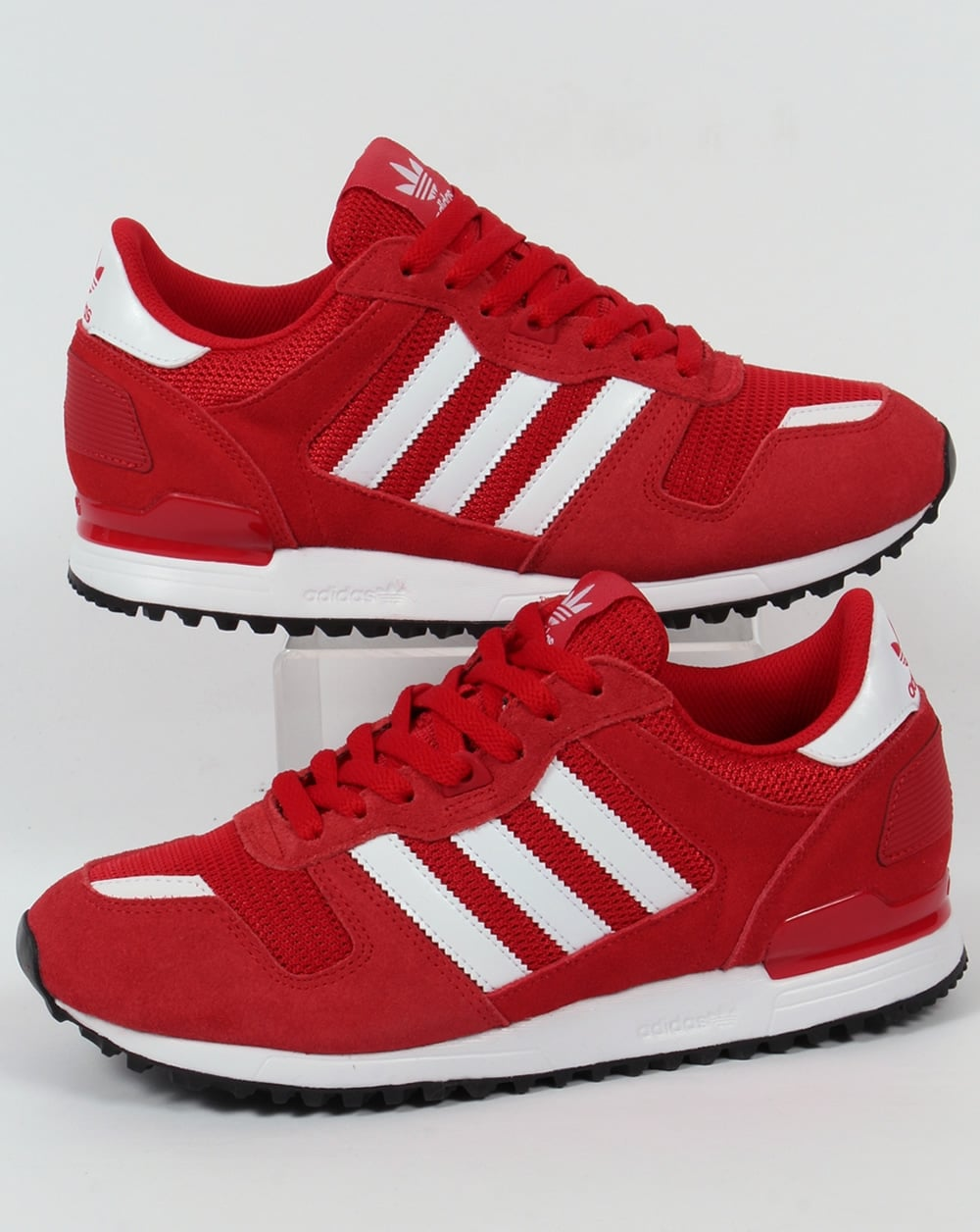 new arrival c0408 8cc96 adidas Trainers Adidas ZX 700 Trainers Red White