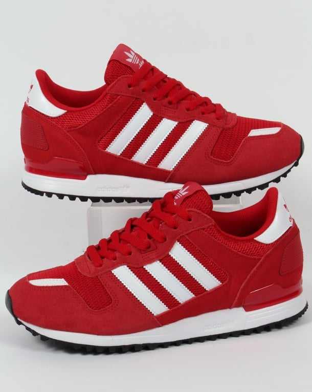 Adidas ZX 700 Trainers Red/White