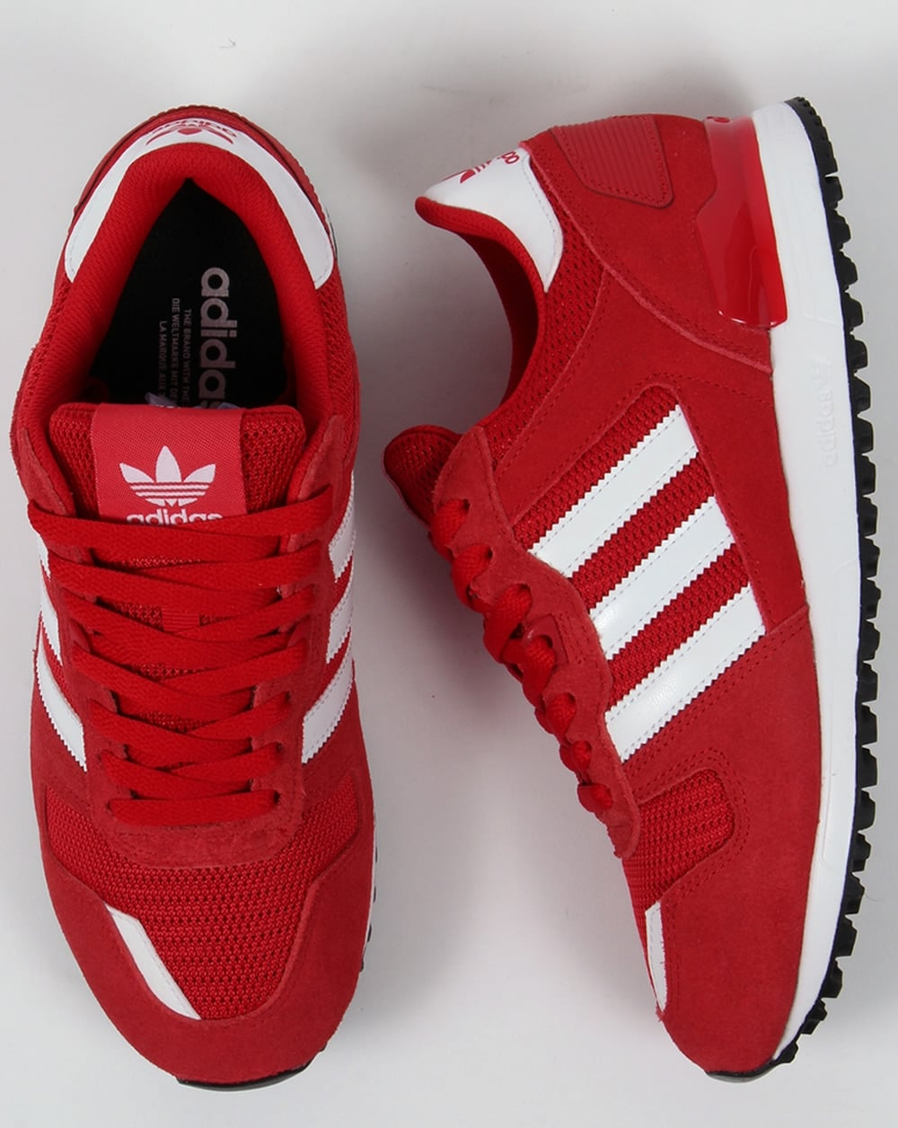 d42be0bf16862 Adidas ZX 700 Trainers Red White