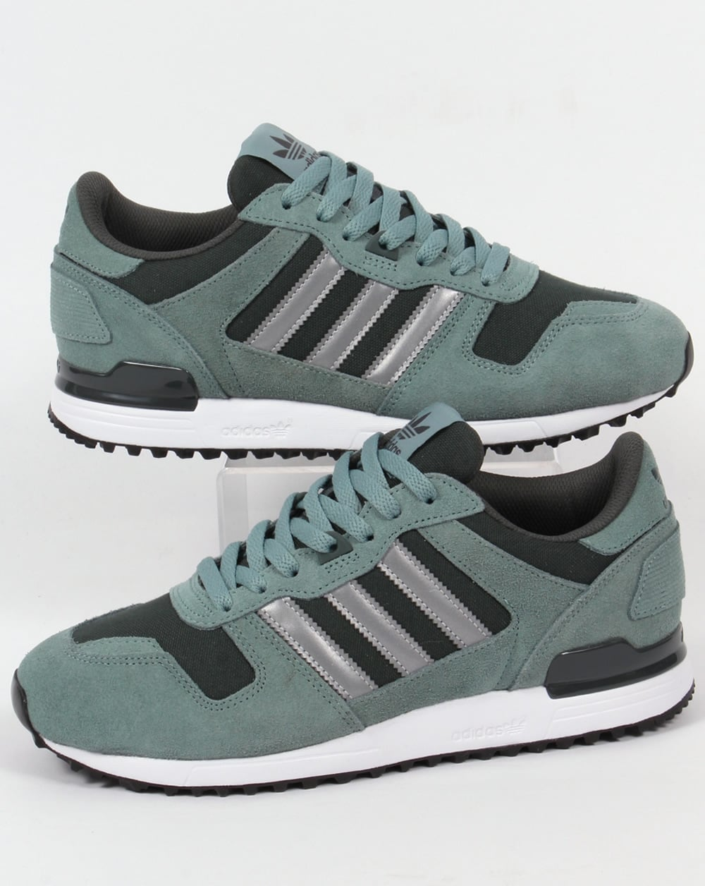 404476bf8 adidas Trainers Adidas ZX 700 Trainers Steel Grey