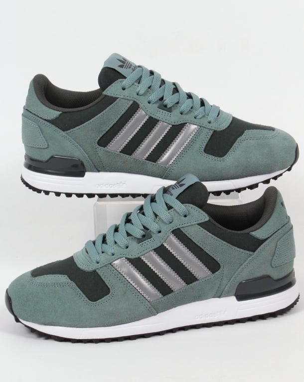 Adidas ZX 700 Trainers Steel Grey