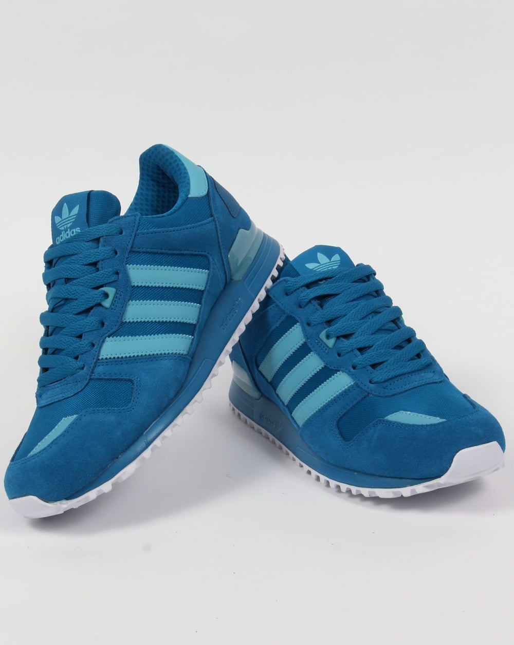 adidas zx 700 trainers utility blue mens originals runner. Black Bedroom Furniture Sets. Home Design Ideas