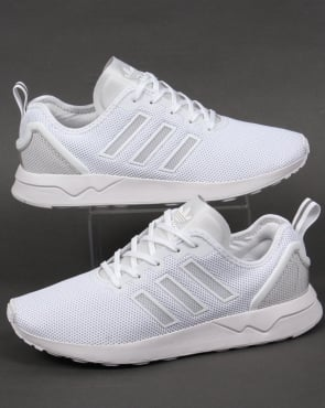 Adidas Trainers Adidas ZX Flux ADV Trainers White/White