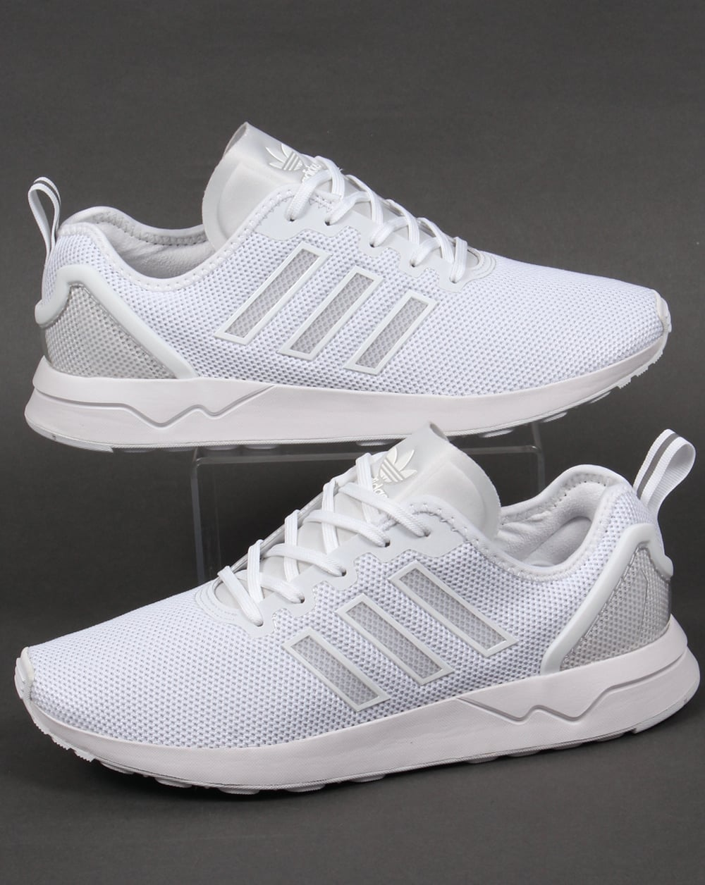 juego corrupción resultado  Adidas ZX Flux ADV Trainers White/White,originals,mens,shoes,runners
