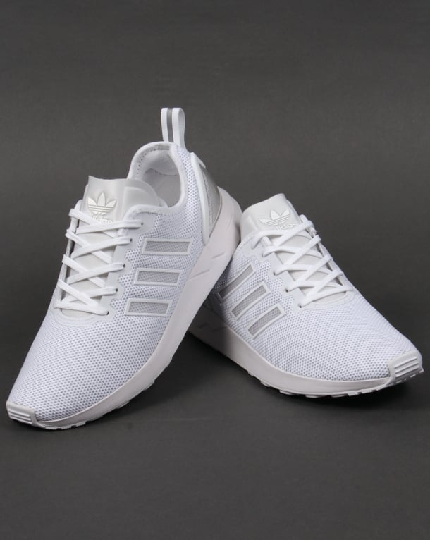 online store 8878d b0f9f Adidas ZX Flux ADV Trainers White White