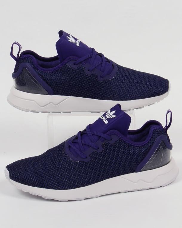 c4dd1b2b0563 ... greece adidas zx flux racer asym trainers purple black white 34800 43ff4