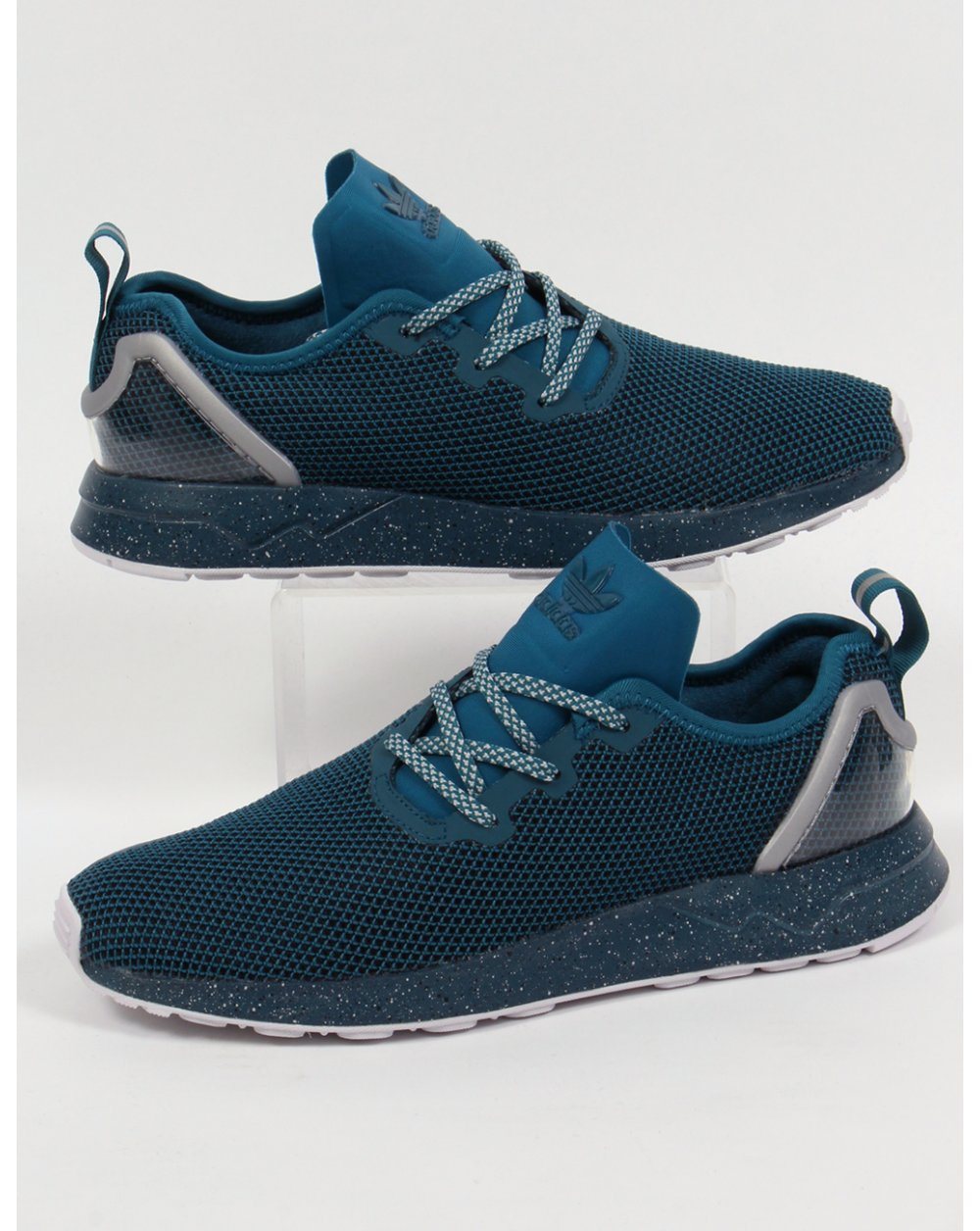 6c8595d3f adidas Trainers Adidas ZX Flux Racer Asym Trainers Serpent Blue