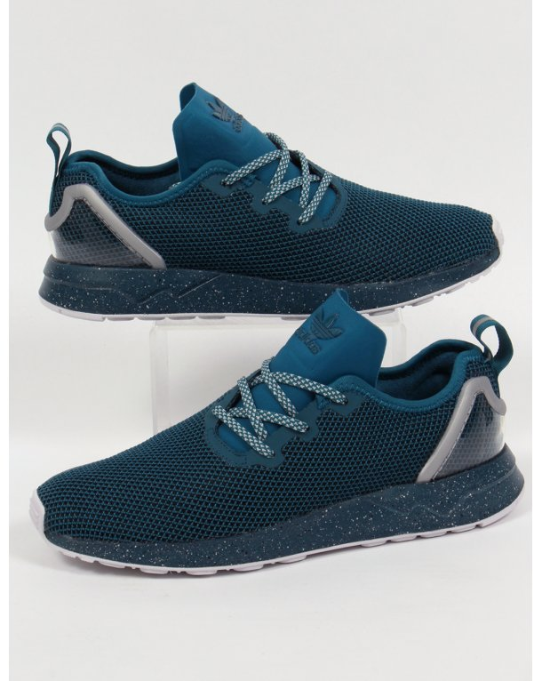 Adidas ZX Flux Racer Asym Trainers Serpent Blue