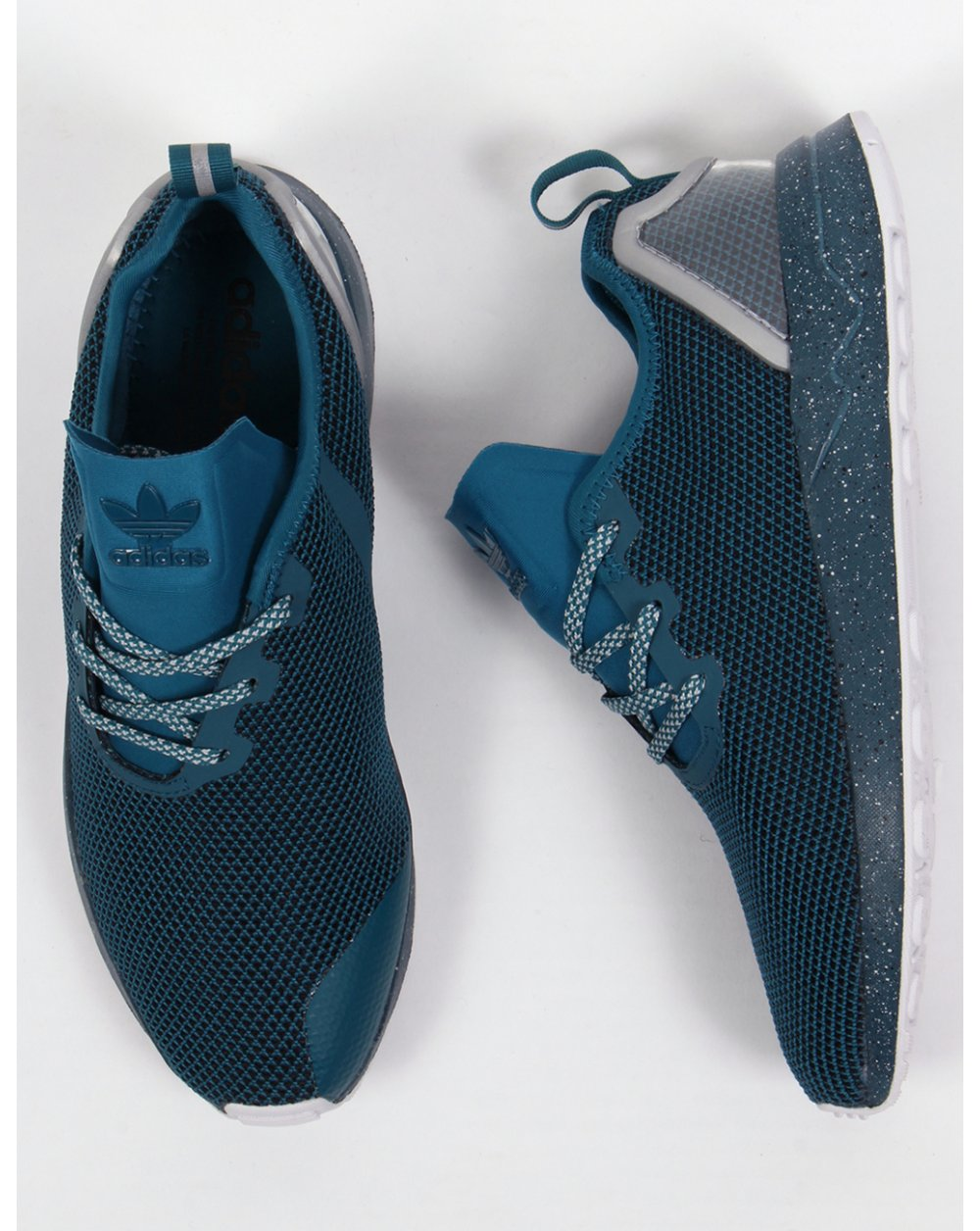 ed1baeca2 new zealand adidas zx flux racer blue db904 26d0c