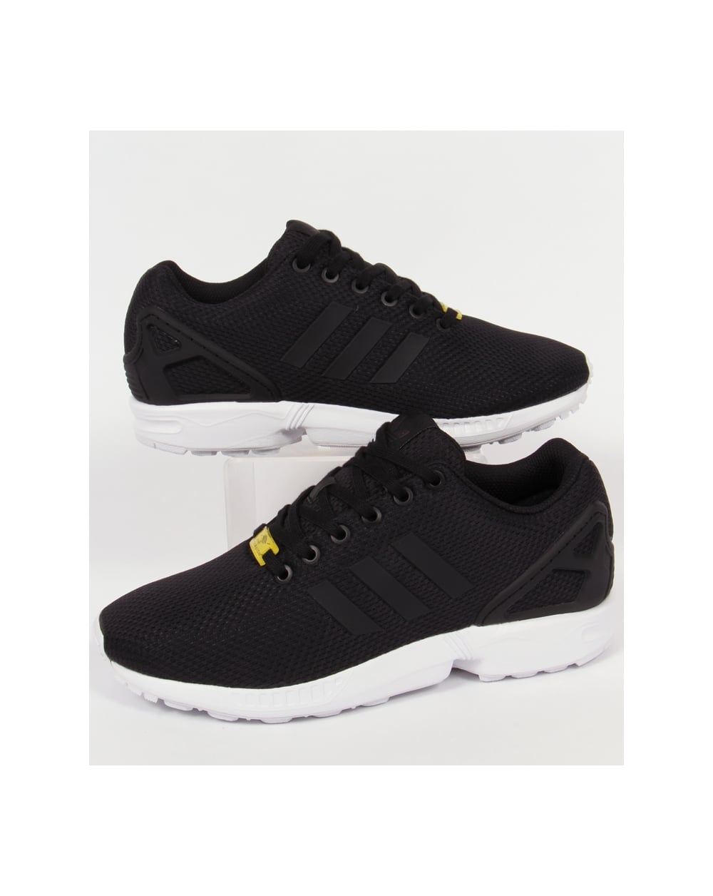 timeless design 455a9 8a19d Adidas Zx Flux Trainers Black/Black