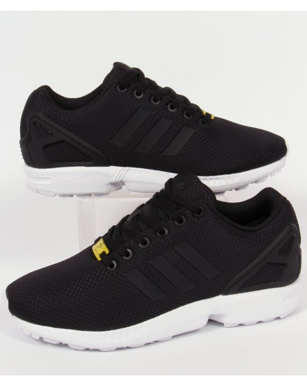 Adidas Zx Flux Trainers Black/Black