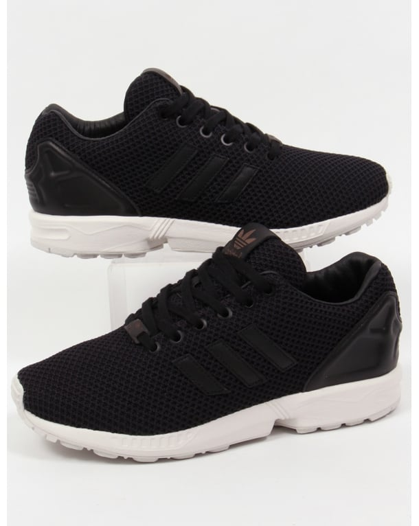 Adidas Zx Flux Trainers Black/black/white