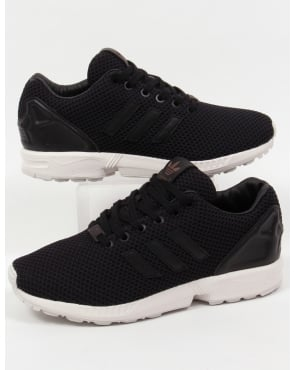 Adidas Trainers Adidas Zx Flux Trainers Black/black/white
