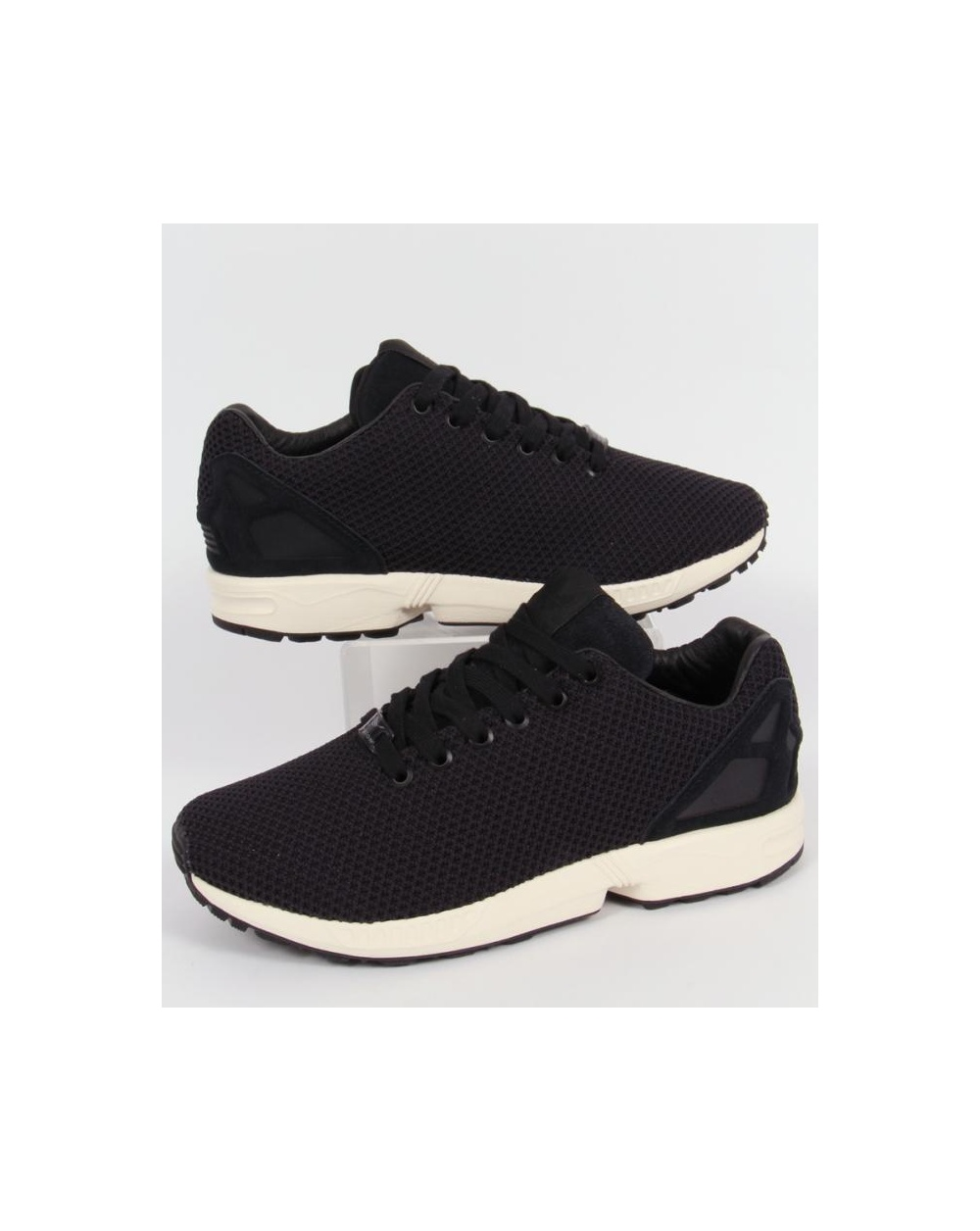 size 40 e5562 289bf Adidas ZX Flux Trainers Black