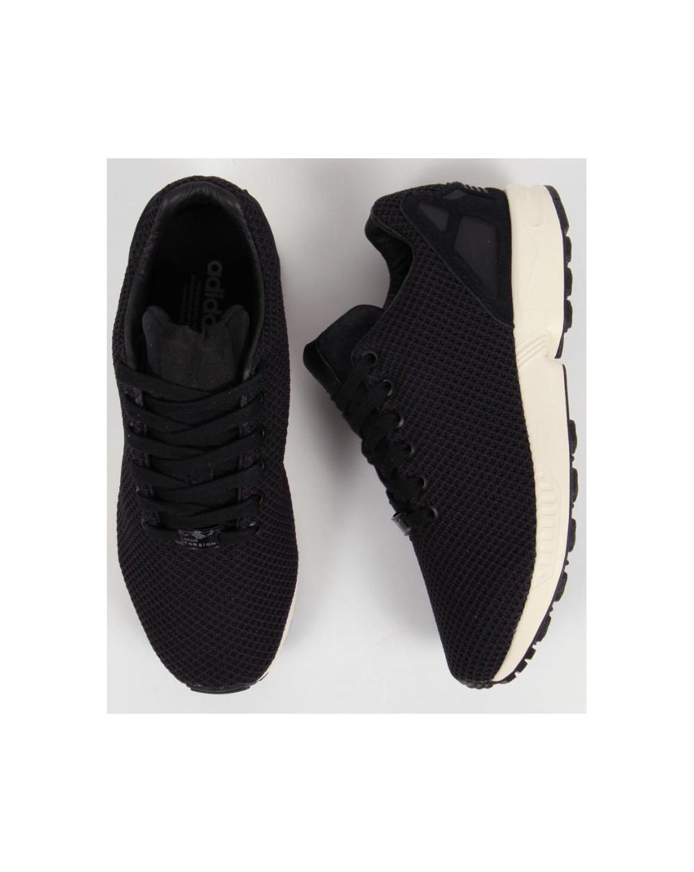 Adidas Zx Flux Black N Gold