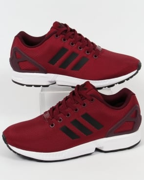 adidas Trainers Adidas ZX Flux Trainers Burgundy/Black