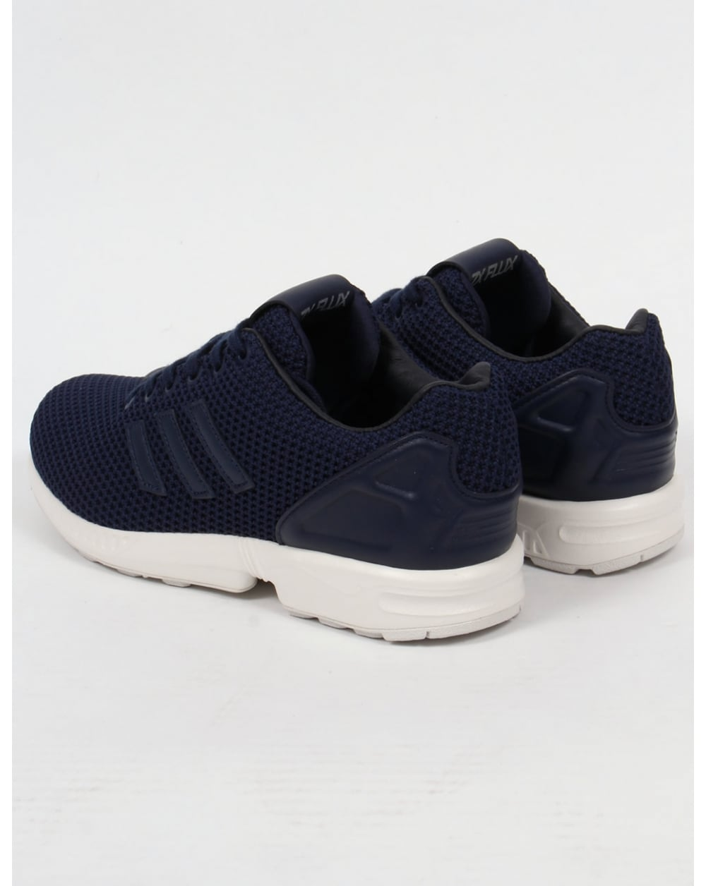 info for 62ef9 bab77 Adidas ZX Flux Trainers Navy/Navy/White