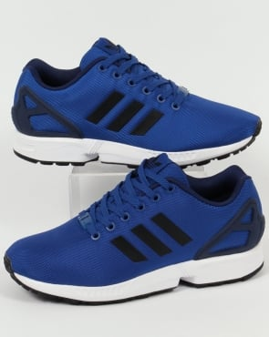 adidas Trainers Adidas ZX Flux Trainers Royal Blue/Black