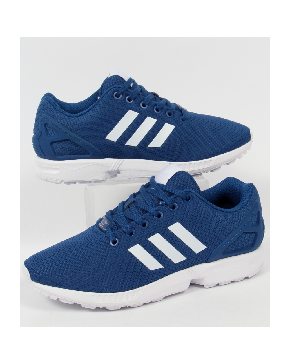 adidas originals zx flux trainers royal blue white. Black Bedroom Furniture Sets. Home Design Ideas