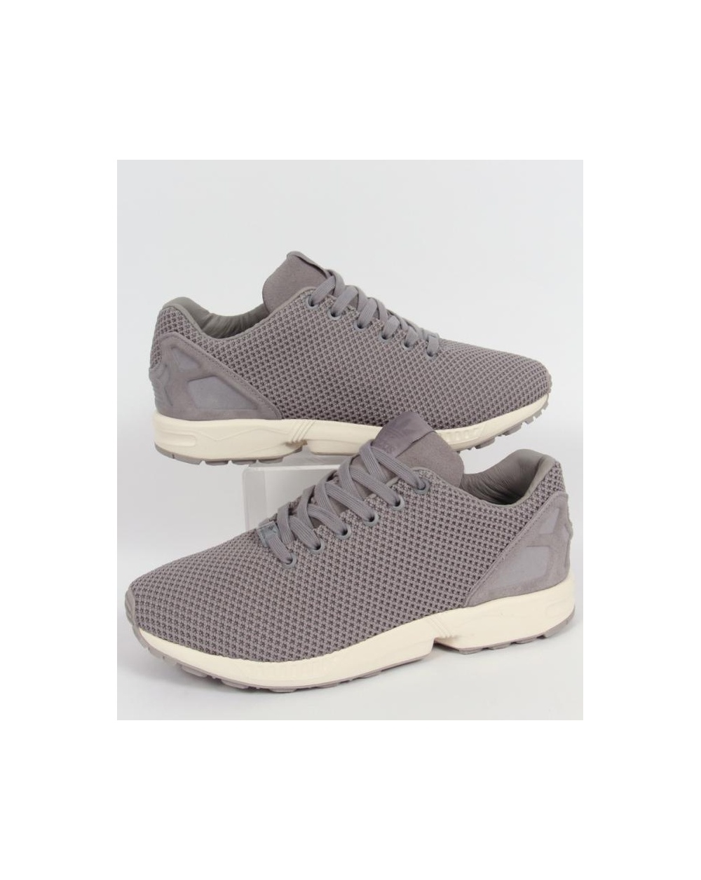 adidas zx flux trainers solid grey original zx flux grey. Black Bedroom Furniture Sets. Home Design Ideas