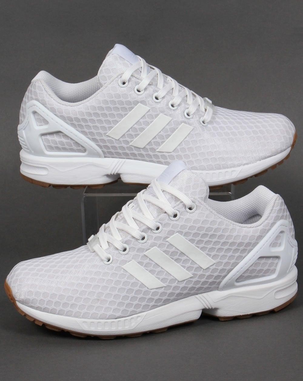 Originales Adidas Zx Flujo Blanco lYnznyBOg