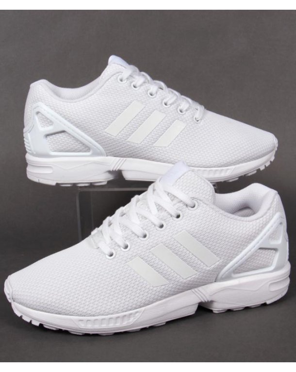 Adidas Flux Trainers White